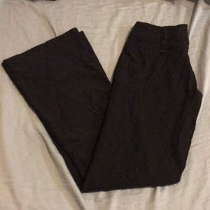 Flare work pants